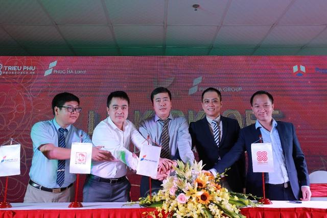 Ký kết hợp tác phân phối chính thức dự án Thăng Long Capital.