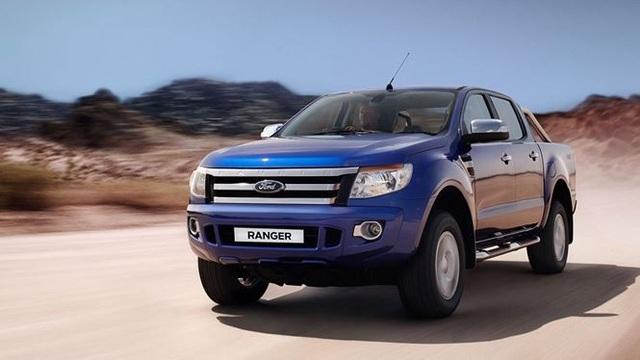 Ford đã cũng 2 lần triệu hồi mẫu bán tải Ranger