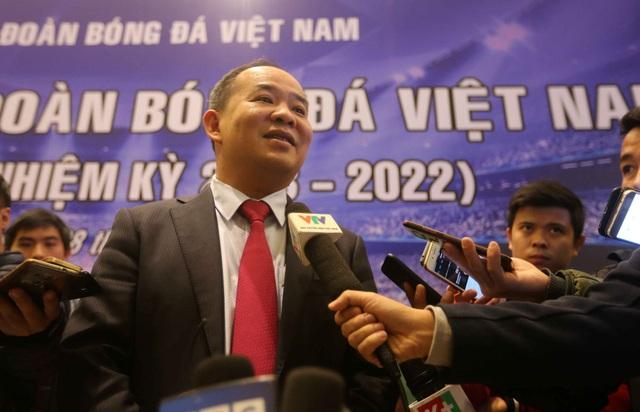 Ông Lê Khánh Hải trung cử ghế Chủ tịch VFF khóa VIII - Ảnh: Gia Hưng