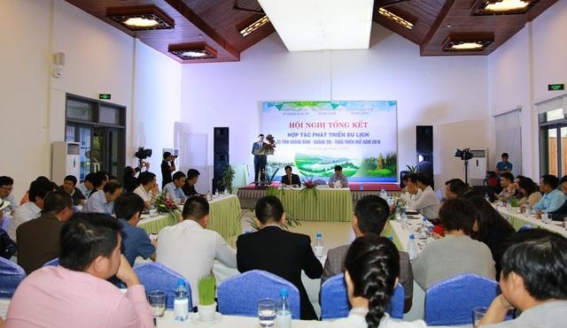 Hội nghị hợp tác phát triển du lịch ba tỉnh Bình - Trị - Thiên