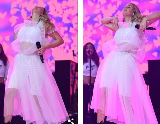 Ca sỹ Ellie Goulding hóa công chúa xinh đẹp trên sân khâu