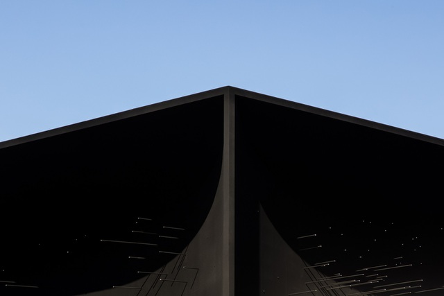 """Cận cảnh công trình kiến trúc """"đen nhất thế giới"""" - 4"""
