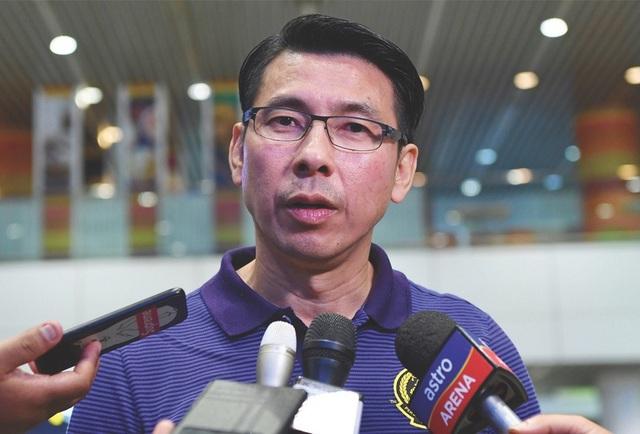HLV Tan Chen Hoe của tuyển Malaysia