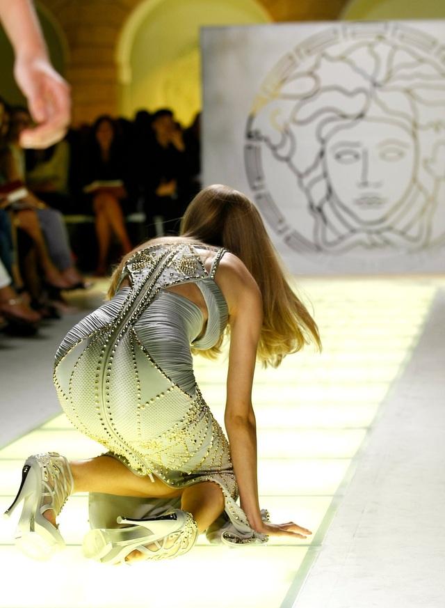Tại Tuần lễ Thời trang Milan 2011.