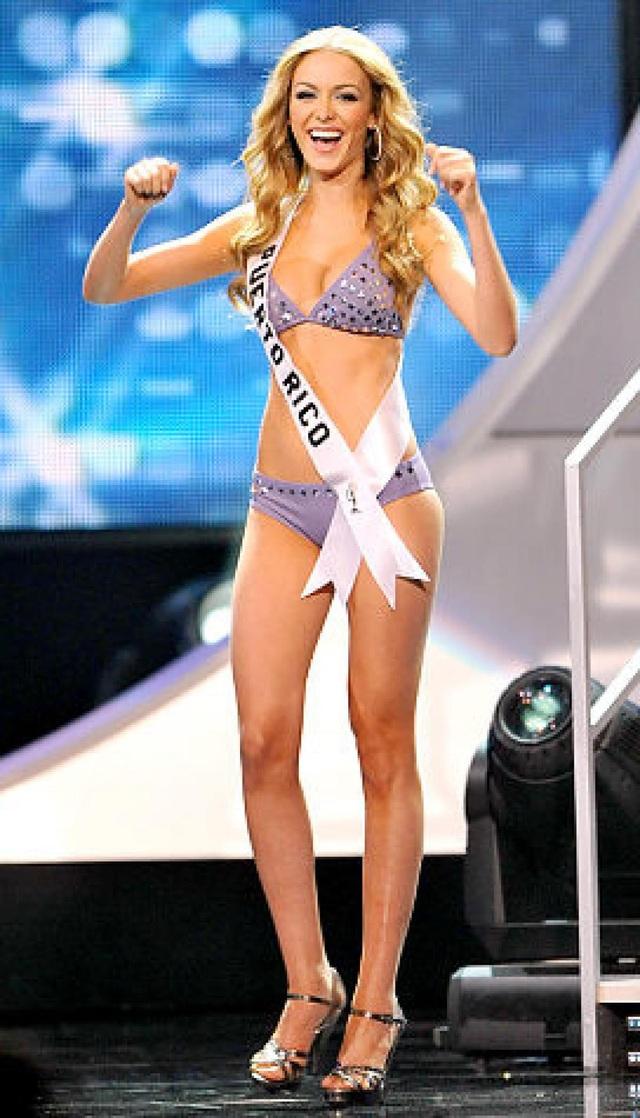 Hoa hậu Puerto Rico - Mariana Vicente - lọt vào top 10