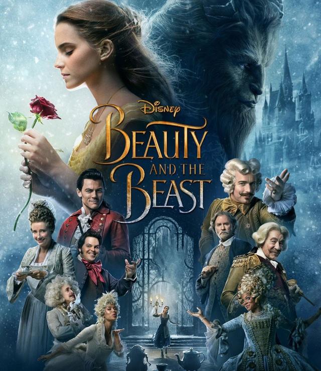 """1. """"Beauty and the Beast"""" (Người đẹp và quái vật) - 1,26 tỷ USD"""