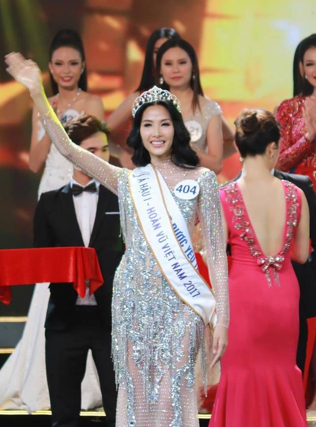 H'Hen Nie đăng quang Hoa hậu Hoàn vũ Việt Nam 2017 - 7