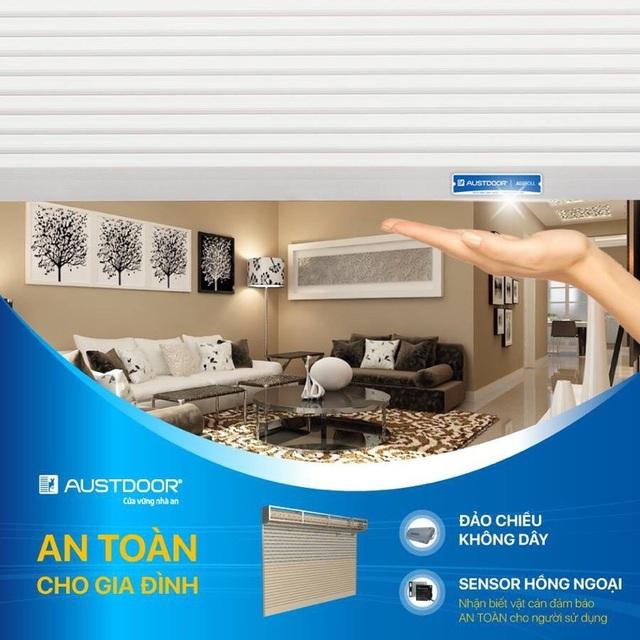 Đảo chiều kép Dual Safe mang lại an toàn tuyệt đối cho người sử dụng