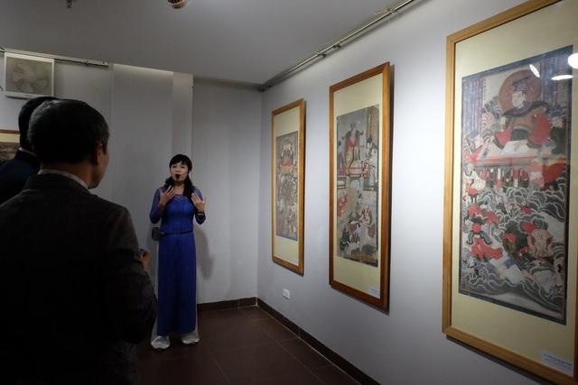Triển lãm chọn lọc 62 bức tranh tiêu biểu của các dòng tranh dân gian nổi tiếng ở Việt Nam