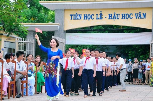 Nhiều trường học ở Đà Nẵng có hiệu trưởng mới từ tháng 1/2018 (ảnh: Trường THCS Nguyễn Huệ)