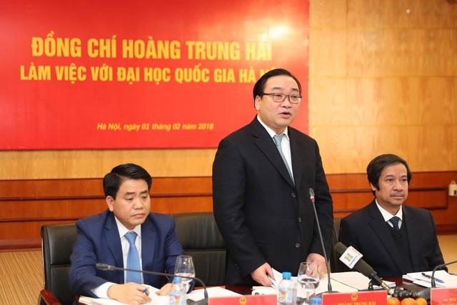 Bí thư Hà Nội: Hỗ trợ ĐH Quốc gia Hà Nội xây dựng hạ tầng tại Hòa Lạc - 4