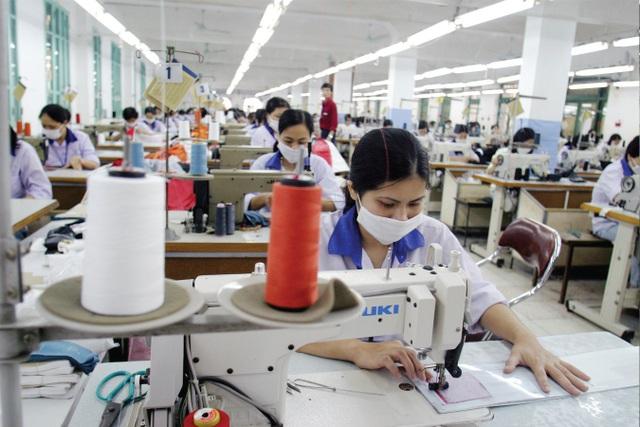 Năm 2017, dệt may Việt xuất khẩu được 26 tỷ USD nhưng đã chi 21 tỷ USD để nhập khẩu nguyên liệu đầu vào.