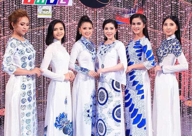 Lần đầu tiên các thí sinh thi ca hát đều... xinh như hoa hậu - 6