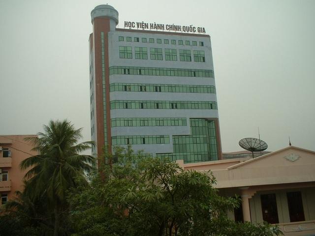 Năm 2018, Học viện Hành chính quốc gia dừng đào tạo hệ đại học - 1