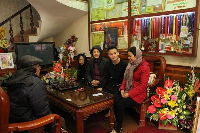Quang Hải cho biết cậu muốn có những phút giây riêng tư bên gia đình