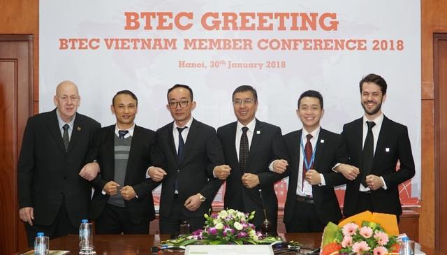 BTEC Greeting chào mừng trường Quốc tế CHM gia nhập Tổ chức giáo dục BTEC Việt Nam.