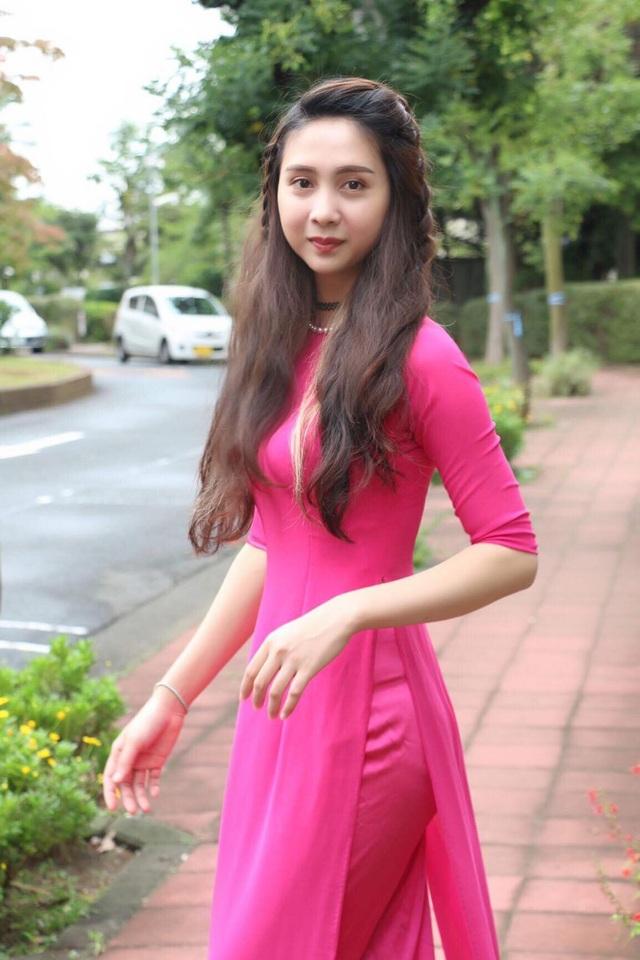 Nguyễn Thị Ngọc Hiệp – Hoa khôi du học sinh Việt tại Nhật năm 2017.