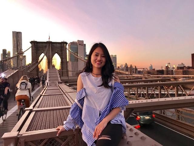 Đại sứ du học sinh Việt tại thành phố New York 2017 Nguyễn Thu Trà.