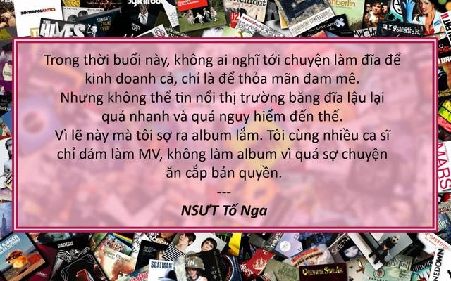 Xem thêm: Ca sĩ đua nhau ra MV vì nạn sao chép đĩa lậu đã trở nên bất trị?