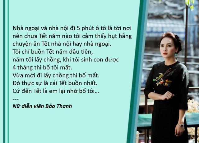 """Xem thêm: Bảo Thanh, Mạnh Trường chia sẻ """"ăn Tết nội hay nhà ngoại"""""""
