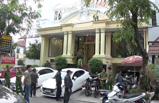 Công an kiểm tra hàng loạt khách sạn dịp cuối năm