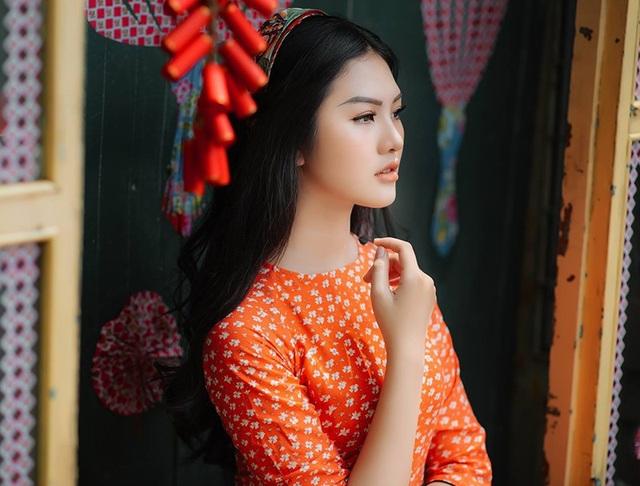 Hot girl xinh đẹp gửi lời chúc Tết độc giả báo Dân trí - 1