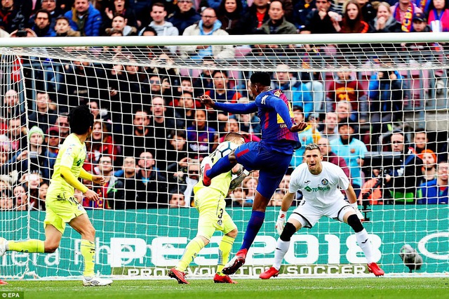 Barcelona gặp bế tắc trước Getafe chơi phòng ngự khó chịu