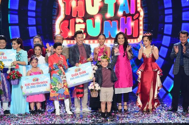 Những cảm xúc đẹp đẽ mà cậu bé mang lại cho giám khảo cùng khán giả, Quốc Dương xuất sắc giành được số điểm 39,75 điểm, đăng quang mùa 2 của chương trình Thử tài siêu nhí với tổng tiền thưởng 200 triệu đồng.