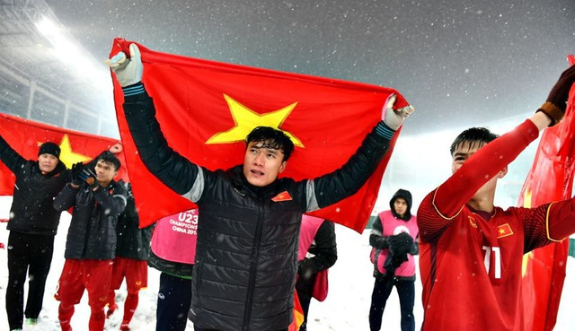 Bùi Tiến Dũng đã có một giải U23 châu Á xuất sắc cùng U23 Việt Nam