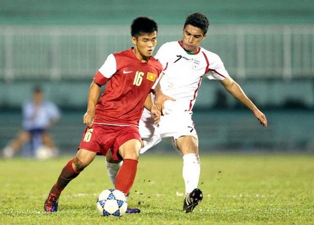 Thái Sung (16) là một trong những cầu thủ tuổi Tuất tài năng của bóng đá Việt Nam