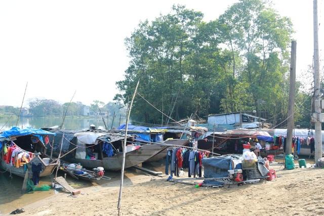 Xóm vạn đò cuối cùng còn sót lại trên sông Bồ, xã Hương Vinh, Thị xã Hương Trà (tỉnh Thừa Thiên Huế).