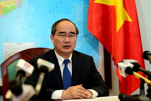 Bí thư Thành ủy TPHCM Nguyễn Thiện Nhân nhấn mạnh việc xây dựng trung tâm đô thị sáng tạo làm hạt nhân để thành phố triển khai cuộc cách mạng công nghiệp lần thứ 4