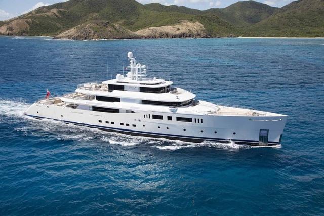Siêu du thuyền Fraser Yachts Perini Navi Grace E có giá khởi điểm hơn 2 nghìn tỷ đồng. (Nguồn: BI)