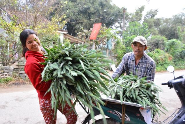 Niềm vui người trồng hoa Nghĩa Hà trong phiên chợ cuối năm