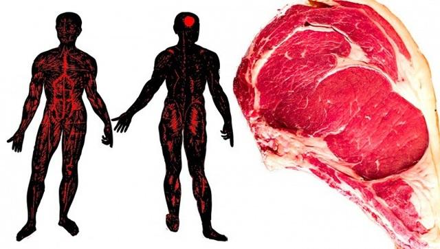 """9 dấu hiệu cho thấy cơ thể """"nạp"""" quá nhiều thịt - 6"""