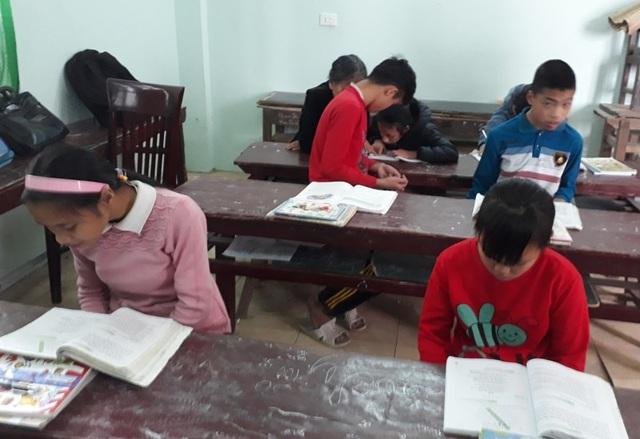 Học sinh của cô giáo Thông chủ yếu là những em kém may mắn trong xã hội