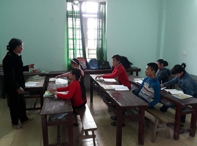 Lớp học tình thương của cô giáo Nguyễn Thị Thông
