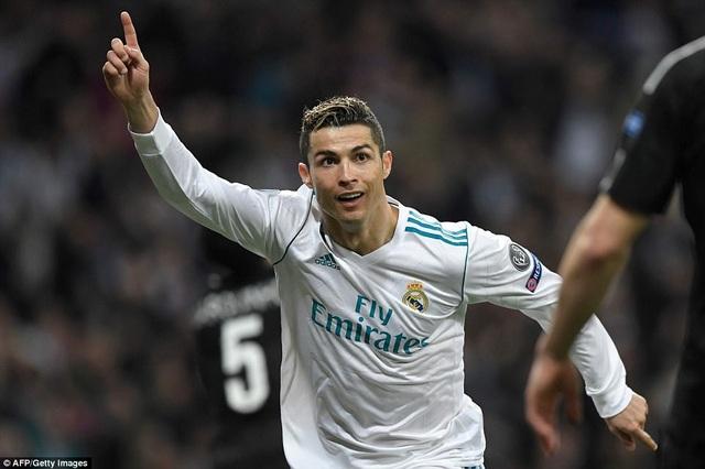 C.Ronaldo tỏa sáng với cú đúp vào lưới PSG