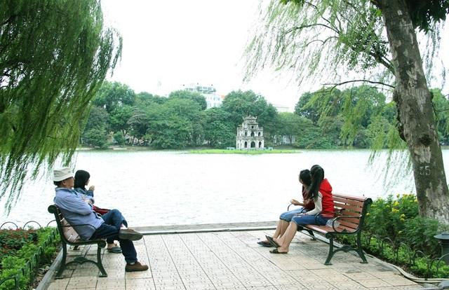 Hà Nội thời tiết đẹp trong ngày hôm nay (15/2 - tức 30 Tết). (Ảnh minh họa: Nguyễn Dương).
