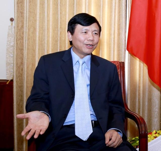 Thứ trưởng Bộ Ngoại giao Việt Nam Đặng Đình Qúy