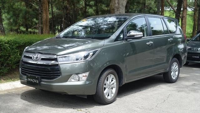 4. Toyota Innova (doanh số: 187.331 xe, tăng 6,2%) Đây là mẫu xe đa dụng bán chạy nhất Việt Nam trong nhiều năm liền, nhưng trên thế giới chỉ đứng thứ 4 trong năm 2017 vừa qua (tăng 2 bậc so với năm 2016)