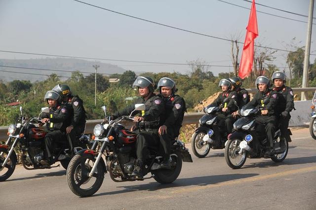 Lực lượng CSCĐ cũng được tăng cường lên biên giới dịp giao thừa