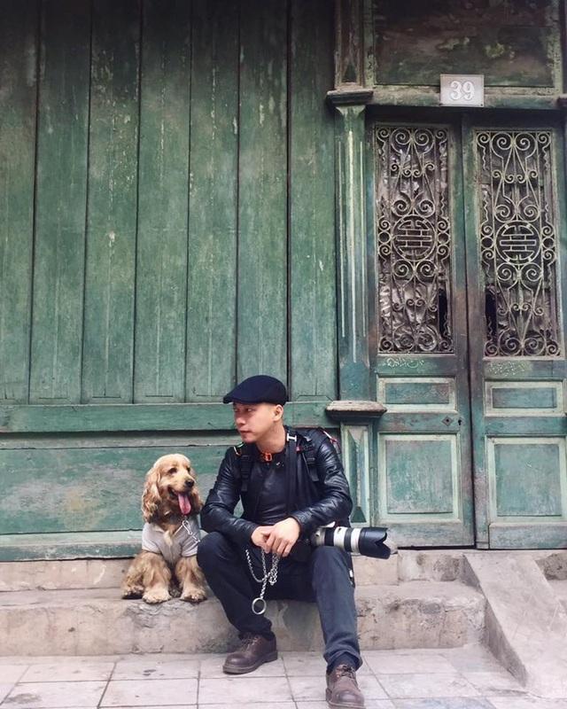 """Năm Mậu Tuất, cún cưng được nhiều bạn trẻ lựa chọn trở thành """"bạn diễn"""" cho bộ ảnh năm mới của mình"""