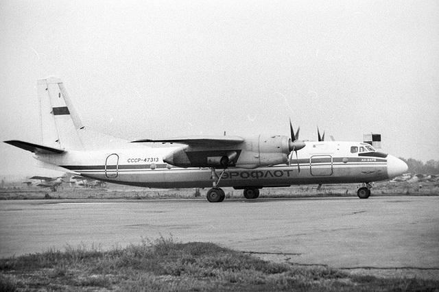 Chiếc Antonov An-24 bị tấn công khi chở 46 hành khách (Ảnh: RBTH)