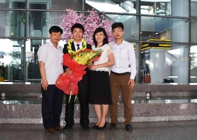 Em Nguyễn Ngọc Long luôn là niềm tự hào của gia đình