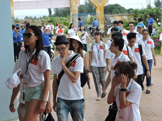 Trong ngày mùng 2 Tết đã có 700 du khách đến với đảo Lý Sơn