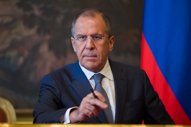 Ngoại trưởng Nga Sergey Lavrov. (Ảnh: UB Post)