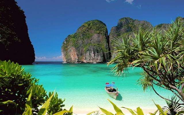 Nơi này từng được chọn làm bối cảnh quay bộ phim The Beach nổi tiếng năm 2000