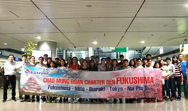 Từ tháng 2 đến tháng 4/2018, Vietravel sẽ giới thiệu 19 chuyến charter đến Fukushima(Nhật Bản)