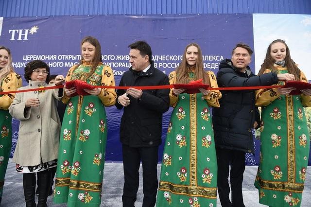 Lễ Khánh thành có Ngài Andrey Vorobiev Iu -Thống đốc tỉnh Moscow tham dự